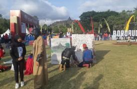 Spiderman dan Batman Unjuk Gigi dalam Borobudur Marathon 2019