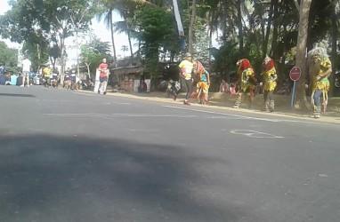Masyarakat Antusias Sambut Pelari Borobudur Marathon 2019