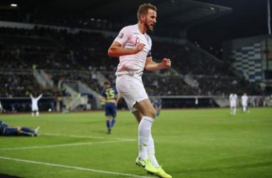 Inggris Akhiri Kualifikasi Euro 2020 dengan Pesta Gol di Kosovo
