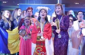 Gadis Bekasi Bawa Indonesia Raih Juara Pertama I-Sing World 2019 di Swedia
