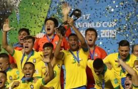 Brasil Juara Piala Dunia U-17, Hajar Meksiko di Final
