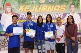 Kota Malang Rebut 4 Emas di Kejurnas Finswimming 2019