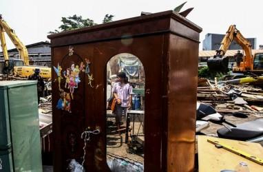 Dulu Anies Bilang Tak Menggusur, Kini Gusur Bangunan di Sunter