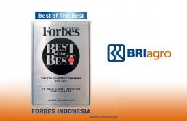 BRI Agro Raih Best of The Best dari Forbes Indonesia