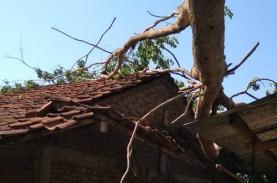 Puluhan Rumah di Bantul Rusak Diterjang Angin Kencang…