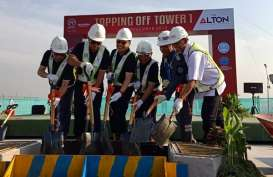 Alton Tower 1 Ditopping off, 15 Persen Unit belum Terjual