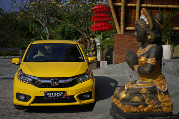 All New Honda Brio Satya. - HMP