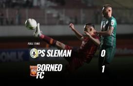 Borneo FC Tekuk PSS Sleman 1-0, Melejit ke Posisi 2. Ini Videonya