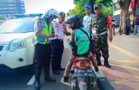 Terobos Jalur Sepeda di Jalan Matraman Raya, 15 Pesepeda Motor Ditilang