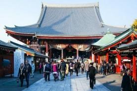 Wisata ke Kuil Sensoji Asakusa Tokyo