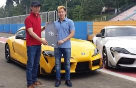 Jajal Mobil Sport Toyota GR Supra di Sentul, Marcus Gideon : Saya Sampai Berkeringat