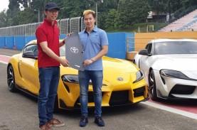 Jajal Mobil Sport Toyota GR Supra di Sentul, Marcus…