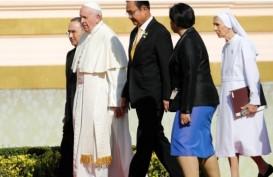 Kunjungi Asia Tenggara, Paus Bertemu Raja Thailand Hari Ini