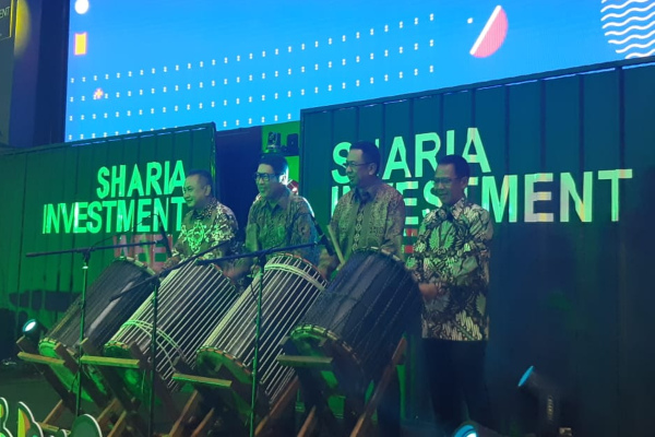 Seremoni pembukaan Sharia Investment Week 2019 pada 2123 November 2019. - Bisnis/Dwi Nicken Tari