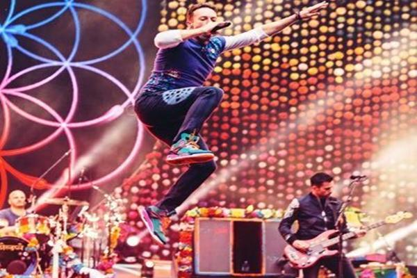 Chris Martin vokalis Coldplay - Twitter