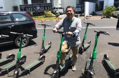 Polda Metro Jaya Akan Tilang Pengendara Skuter Listrik