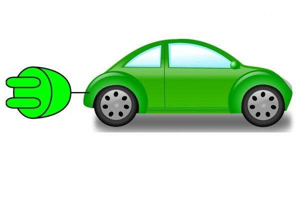 Ilustrasi mobil listrik. - pixabay/CC0 Public Domain