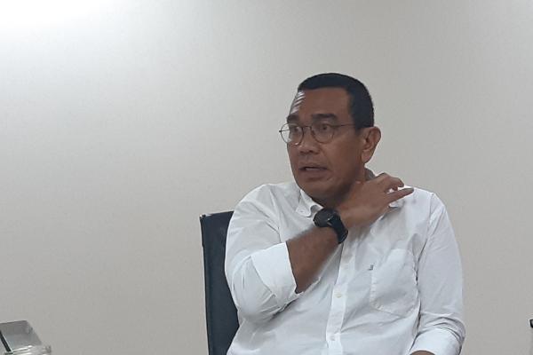 Staf Khusus Menteri BUMN Arya Sinulingga dalam acara bersama media di Kementerian BUMN, Rabu (13/11 - 2019).