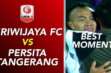 Persita Tekuk Sriwijaya FC 3-2, Lolos ke Promosi Liga 1
