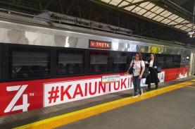 Wah, Jumlah Perjalanan Kereta Api dari Jakarta Naik…