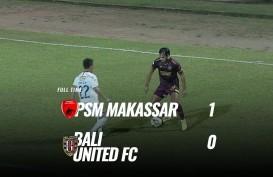 PSM Makassar Tekuk  Bali United 1-0, Melejit ke Posisi 5. Ini Videonya
