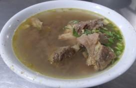 Sup Tunjang, Sajian Tepat Saat Hujan di Pekanbaru