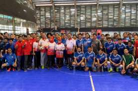 Ulang Tahun Ke-8, OJK Gelar Turnamen Futsal Antar…