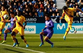Gol VAR Vidal Bawa Barcelona Atasi Juru Kunci Leganes 2 - 1 (Video)