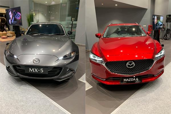 Mazda MX-5, dan Mazda 6.  - foto Mazda