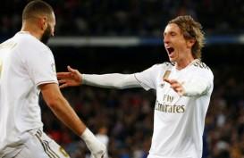 Hasil La Liga Spanyol : Madrid Kembali Merapat ke Barcelona, Poin 28 (Video)