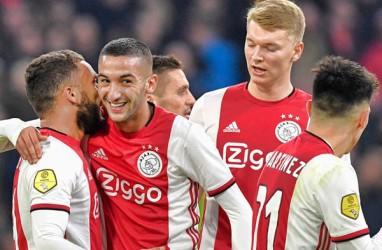 Hasil Liga Belanda : Ajax & AZ Menang Selisih 3 Gol
