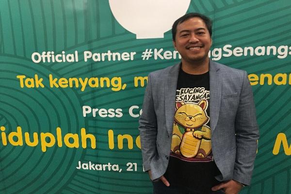 Pandji Pragiwaksono Komika Pertama Gelar Stand Up Comedy di Ciputra Artpreneur - Akbar Evandio