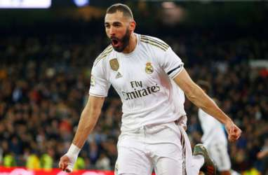 10 Gol, Karim Benzema Top Skor La Liga Jauhi Lionel Messi
