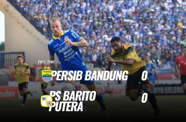 Persib vs Barito Putera 0-0, Persib Gagal ke 5 Besar. Ini Videonya