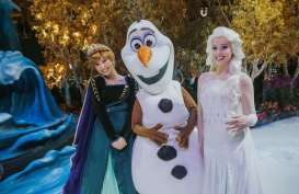 Frozen Wonderland Kini Hadir di Bandara Changi