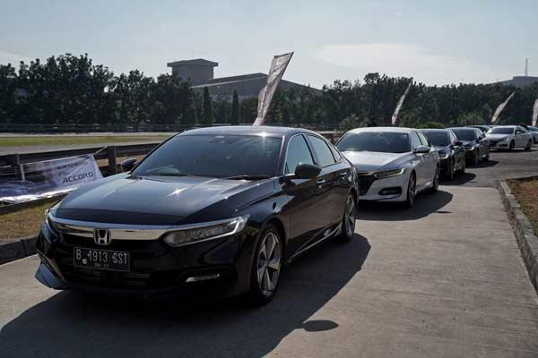 All New Accord dilengkapi dengan teknologi Honda SENSING.  - HPM