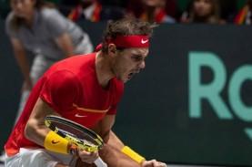Rafael Nadal & Bautista Agut Antar Spanyol Juara Davis…