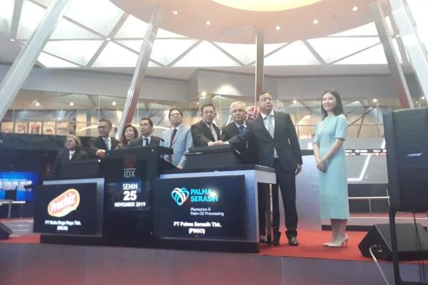 Produsen Keju Prochiz, PT Mulia Boga Raya Tbk., resmi melantai di bursa saham pada Senin (25/11/2019). - Bisnis/Azizah Nur Alfi