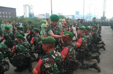 Pangdam Bukit Barisan Lepas 450 Prajurit Jaga Perbatasan Indonesia-Malaysia