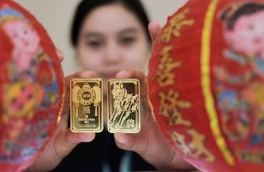 Harga Emas 24 Karat Antam Hari Ini Turun Rp4.000 per Gram