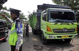 Truk dan Bus Terlibat Kecelakaan di Lingkar Timur Cianjur