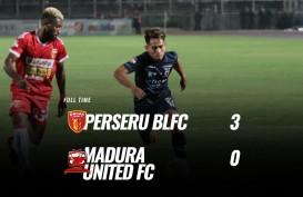Badak Lampung Hajar Madura United 3-0, masih di Zona Degradasi. Ini Videonya