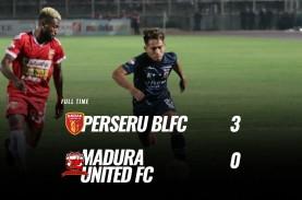 Badak Lampung Hajar Madura United 3-0, masih di Zona…