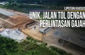 Melihat Lebih Dekat Pembangunan Ruas Tol Pekanbaru - Dumai