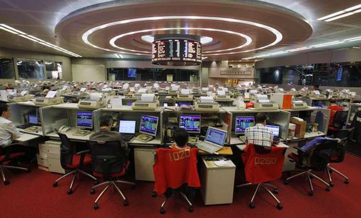 Bursa Efek Hong Kong - Reuters/Bobby Yip