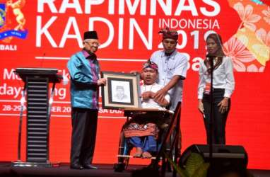 Di Depan Anggota Kadin, Wapres Ma'ruf Amin Sebut Omnibus Law Harus Kuatkan UMKM