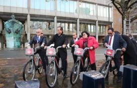 LAPORAN DARI INGGRIS : Yuk, Intip Keseruan Menhub Menjajal Transportasi Publik di London
