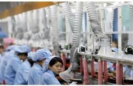 Manufaktur China November secara Tak Terduga Kembali Tumbuh