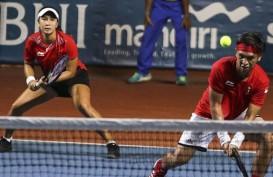 Aldila/Christo Unggulan Teratas Ganda Campuran Tenis Sea Games