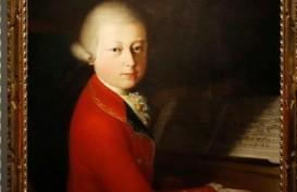 Harga Lukisan Potret Wolfgang Amadeus Mozart Meroket